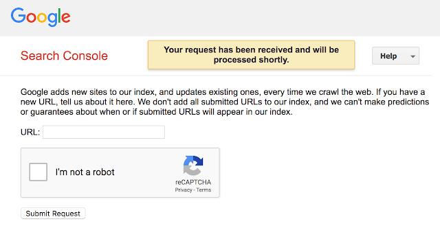 Google ngừng hỗ trợ gửi URL công khai cho chỉ mục tìm kiếm của mình