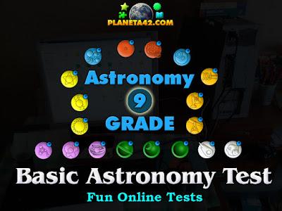 Astronomy Grade Test