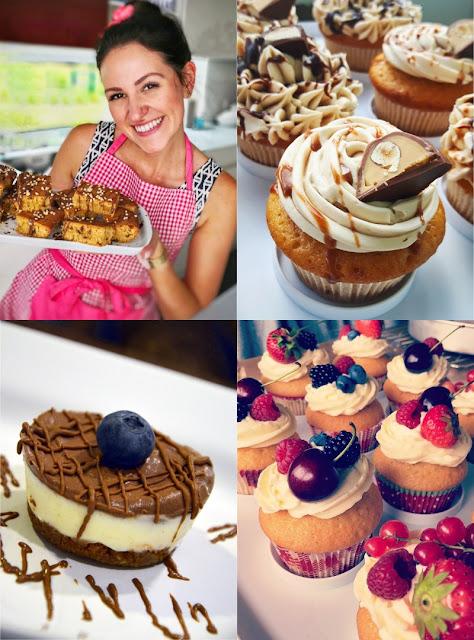 Lilly backt süße kleine Sachen für ihren YouTube Kanal Lilly's Cupcakery