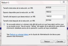 Como crear o eliminar particiones en Windows 7 sin tener que formatear -http://3.bp.blogspot.com/-BswHL5LPslY/T0vIaafVTRI/AAAAAAAAAA8/2vSzkF6yCWs/s1600/Reducir+tama%C3%B1o+de+particion.png