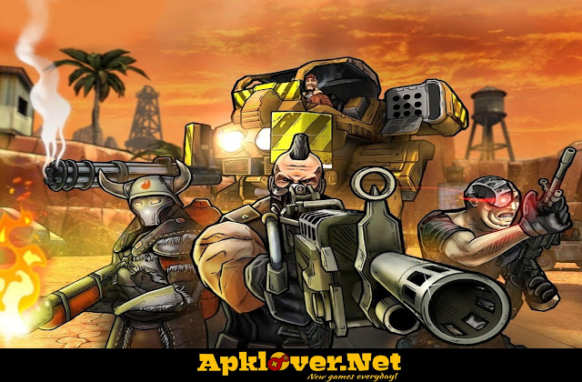 Major Gun war on terror APK MOD Unlimited Money