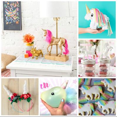 unicorn diy tutorial craft glitter rainbow