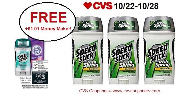 http://www.cvscouponers.com/2017/10/free-101-money-maker-for-speed-stick.html