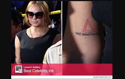 Lindsay Lohan Revela Tatuaje En Antebrazo