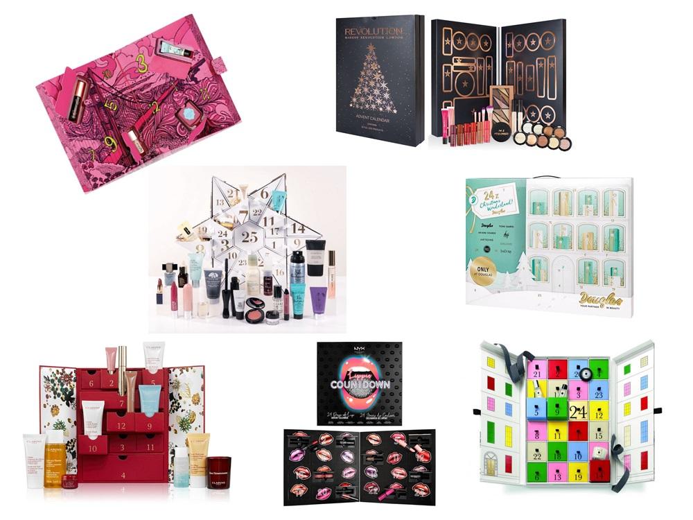 Kalendarze Adwentowe z kosmetykami 2017