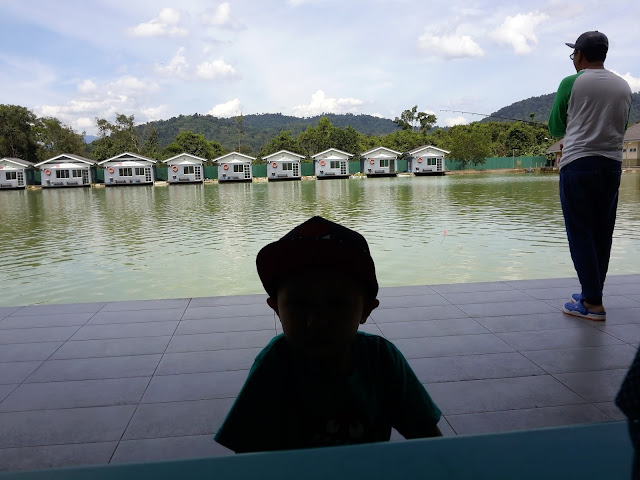 TEMAN ENCIK SUAMI MANCING CATCH AND RELEASE DI HULU LANGAT FISHING RESORT & RESTAURANT
