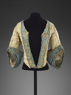 Bodice of a theatre costume c.1750 © Victoria and Albert Museum, London