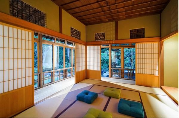 Các chất liệu trong trong thiết kế nhà ở phần lớn là gỗ
