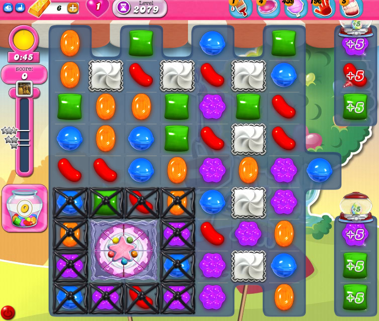 Candy Crush Saga level 2079