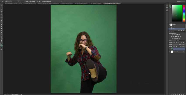 1 | How to Remove Green Screen Background in Photoshop for Beginners