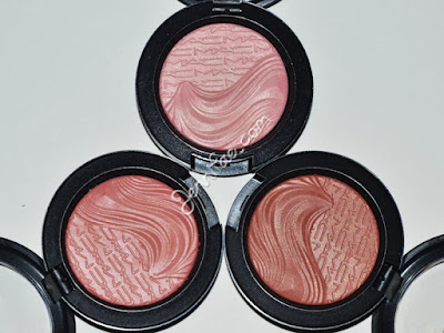 MAC Magnetic Nude Extra Dimension Blushes Review & Swatches