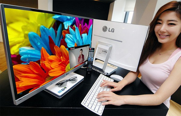 LG Launch's 27-inch V720 PC's Pic Show Up On Flickr