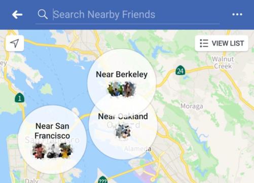فيسبوك يتطلع إلى إعادة تصميم ميزة الأصدقاء القريبين