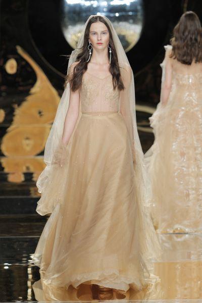 vestidos de novia de colores pasteles