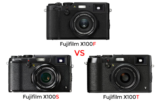 Fujif X100F vs X100T vs X100S Review