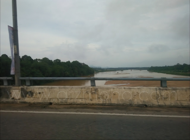 Sungai Kelantan kering, tanah merah Kelantan,