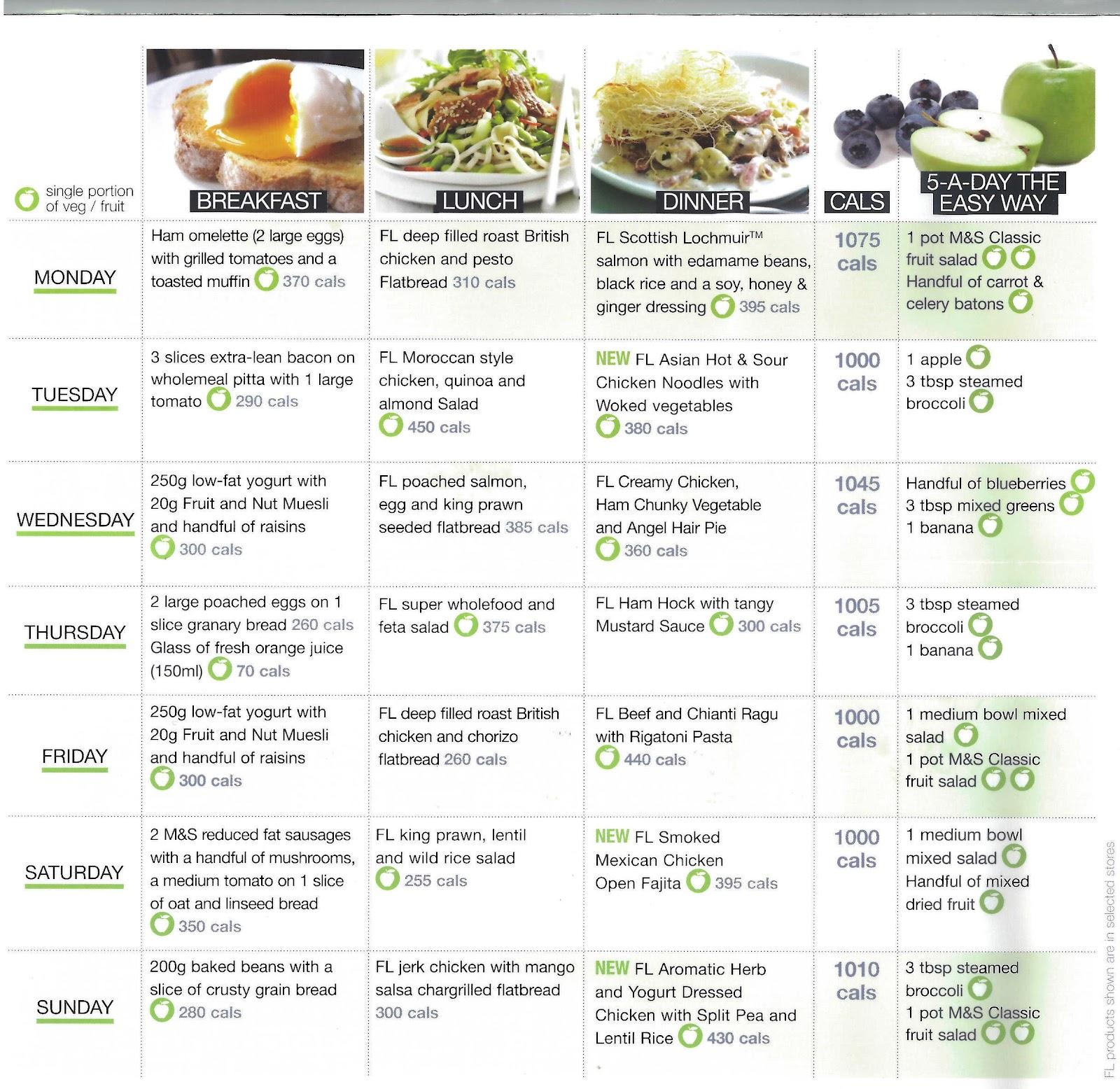 Image result for zig zag diet sample menu