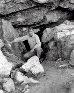 La misteriosa caverna de los Gigantes Pelirrojos