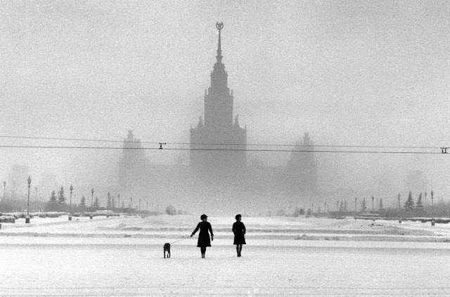 Moscow State University in 1968