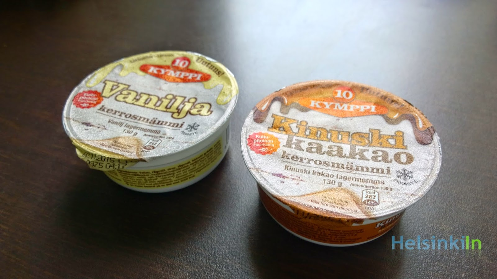 mämmi with vanilla or with caramel coacoa