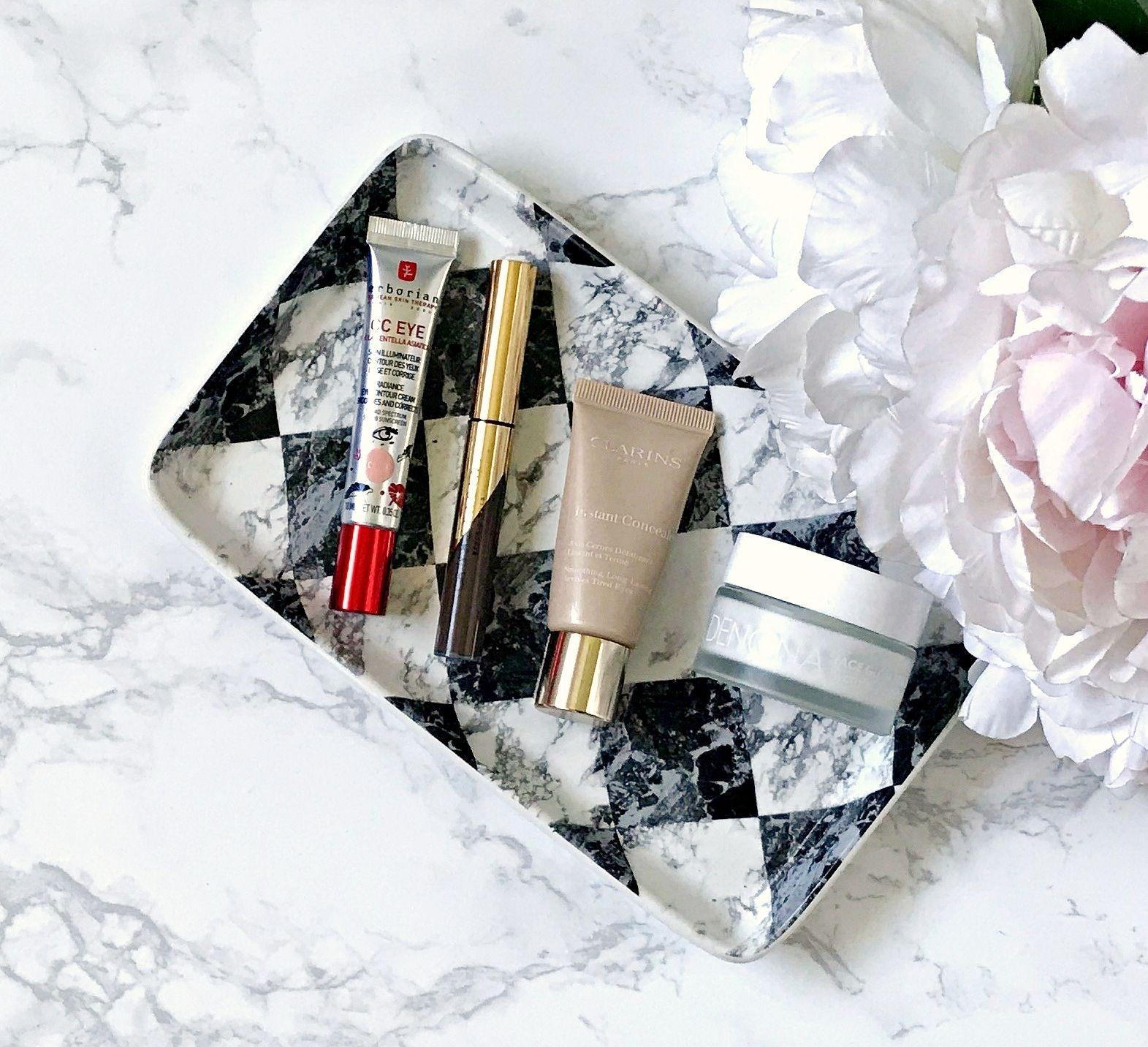 Anastasia Beverly Hills Dip Brow Gel, Clarins Instant Concealer, Erborian CC Eye Cream, Favourites, Natasha Denona Hydrating Glow Primer,