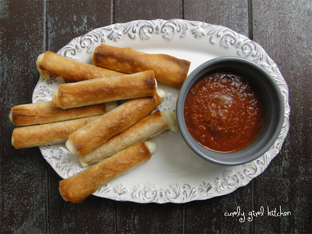 Baked Mozzarella Sticks