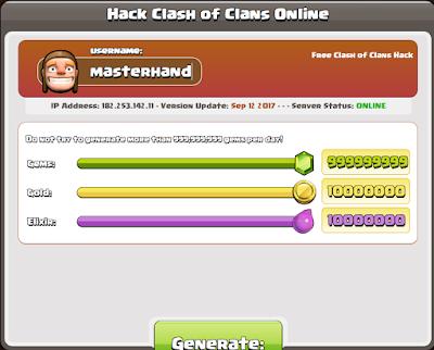 Cara Hack COC Terbaru Gratis 100% Working