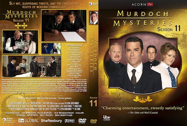 Murdoch Mysteries Season 11 DVD