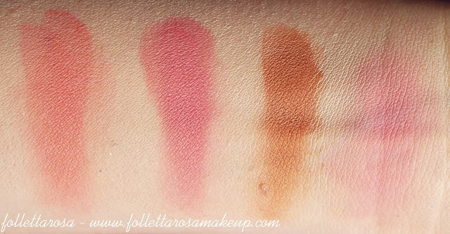blush palette elf swatch