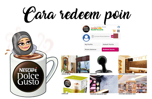 reedem Nescafe Dolce Gusto Club