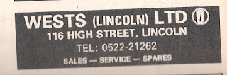 Wests (Lincoln) Ltd Reliant Dealer Advert Motor 21-10-1978