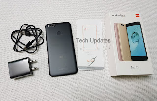 Xiaomi Mi A1 Unboxing & Photo Gallery