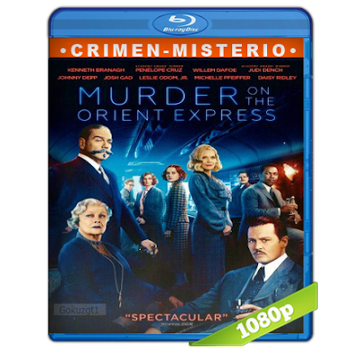 Asesinato En El Expreso De Oriente (2017) BRRip Full 1080p  Audio Trial Latino-Castellano-Ingles 5.1