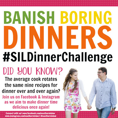 Healthy Dinner Inspiration - The Southern In Law Dinner Challenge