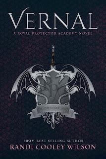 vernal, book, randi cooley wilson, paranormal, romance, fantasy, series, book cover