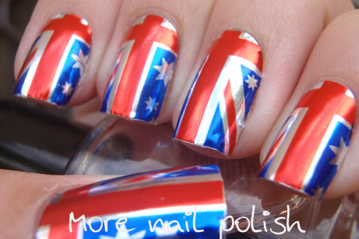 Aussie Nails Australian Flag More Nail Polish