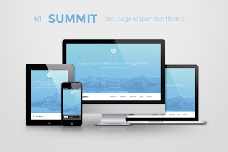 [Free Download] Summit One Page Website Theme