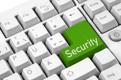 keamanan tombol komputer