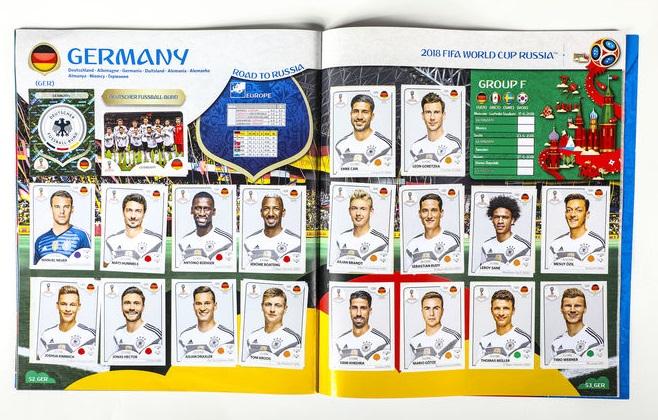 Todas as 32 seleções da Copa do Mundo de 2018 estão presentes no álbum da  Panini 608dbf96dc291