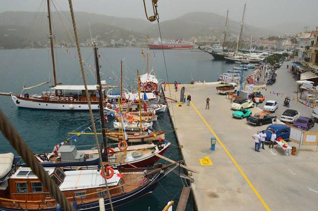 Με επιτυχία το 5ο Σαλόνι Ελληνικών Παραδοσιακών Σκαφών στον Πόρο