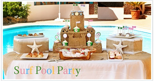 Paper And Party Love Surf Pool Party