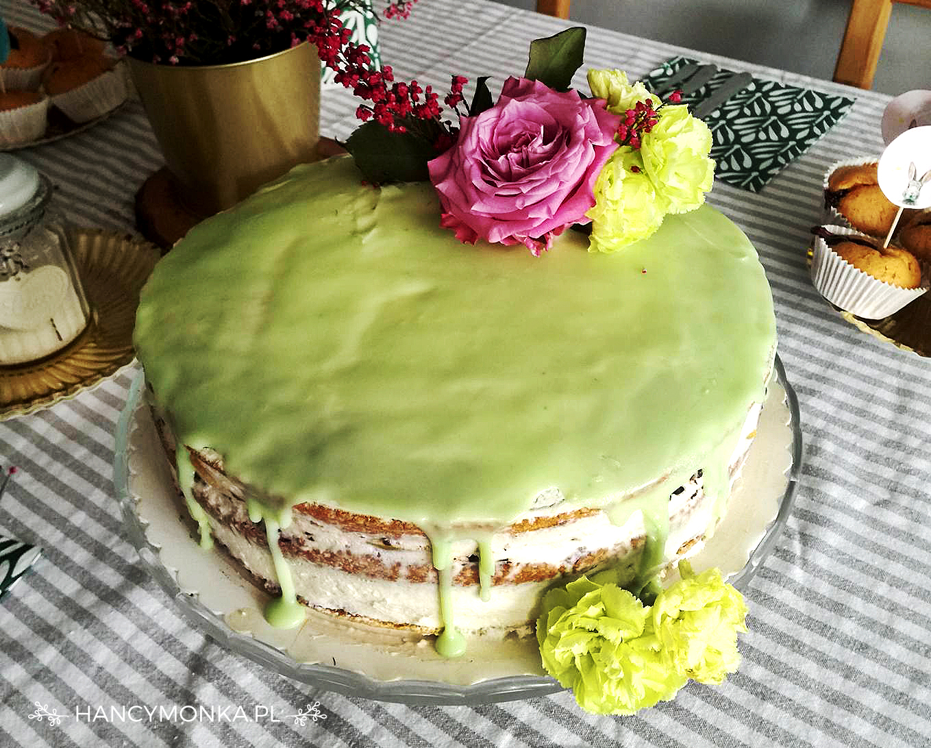 urodziny, 3 latka, birthday, birthday party, tort, birthday cake, naked cake, ciasto, hancymonka, party decor, decoration, party, dekoracje urodzinowe, urodziny dziecka