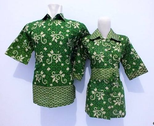 20 Model Baju Batik Kerja Guru Desain Modern 1000