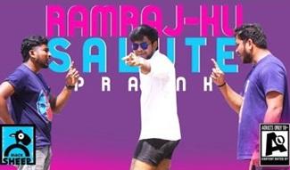 Ramraj ku Salute Prank | Fun Panrom with Siddhu | Black Sheep