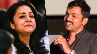 """I feel very paavam for Jo Ani"" – Karthi opens up | Maglir Mattum"