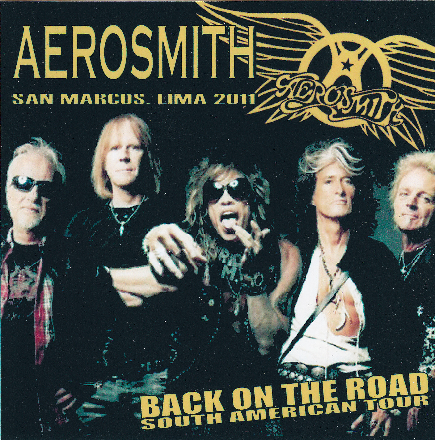 Aerosmith Bootlegs Cover Arts San Marcos Lima 2011