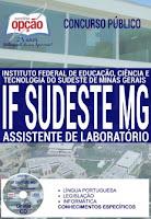Apostila Concurso IFSudeste/MG 2016, Assistente de Laboratório