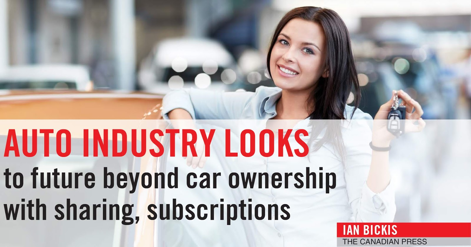 AUTO INDUSTRY LOOKS to future beyond car ownership with sharing, subscriptions