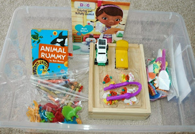 Quiet Time Box contents and ideas