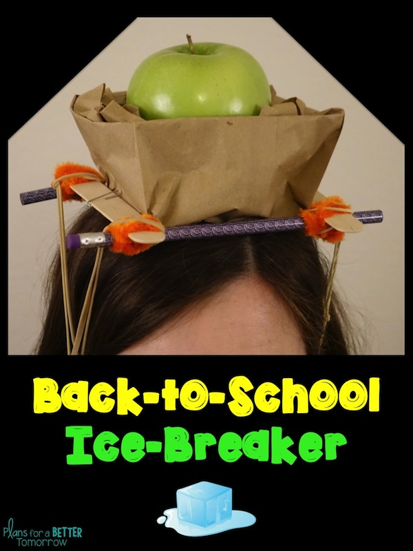 Use this back to school STEM challenge with 2nd - 8th graders as an ice-breaker to build your class community!